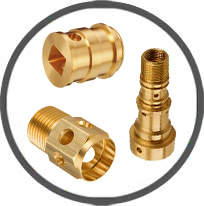 brass cnc machined parts