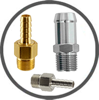 hose fittings brass stainless steel